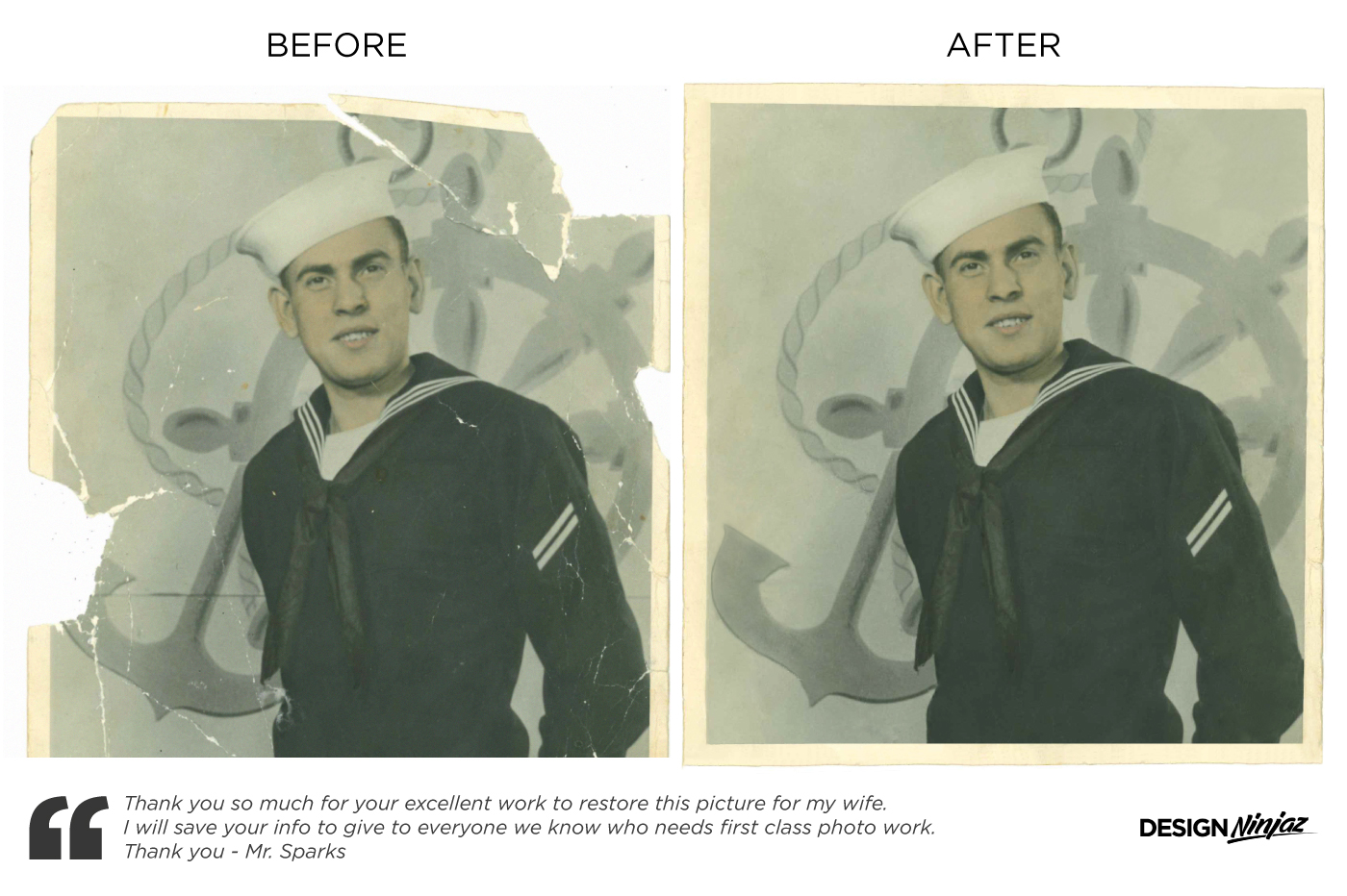 Photo Retouching & Restoration