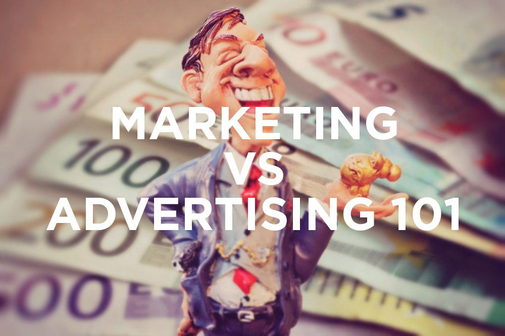 Marketing vs Advertising