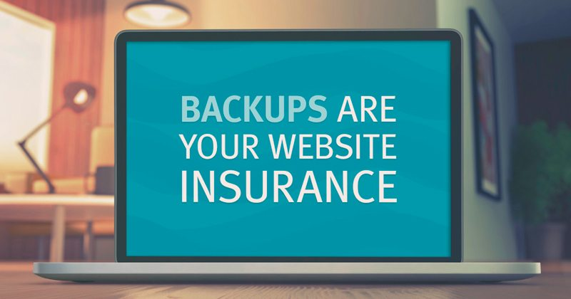 Backup, website, WordPress, Web design