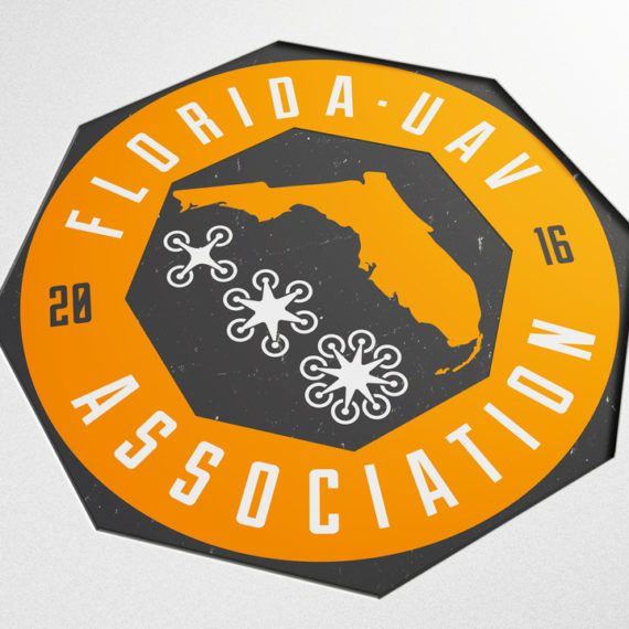 Florida UAV Association, Logo Design, Drone Logo, Tampa Drones