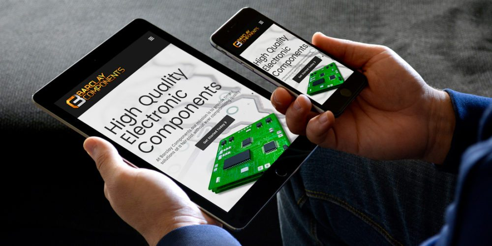 Barclay Components Tampa Responsive Webdesign