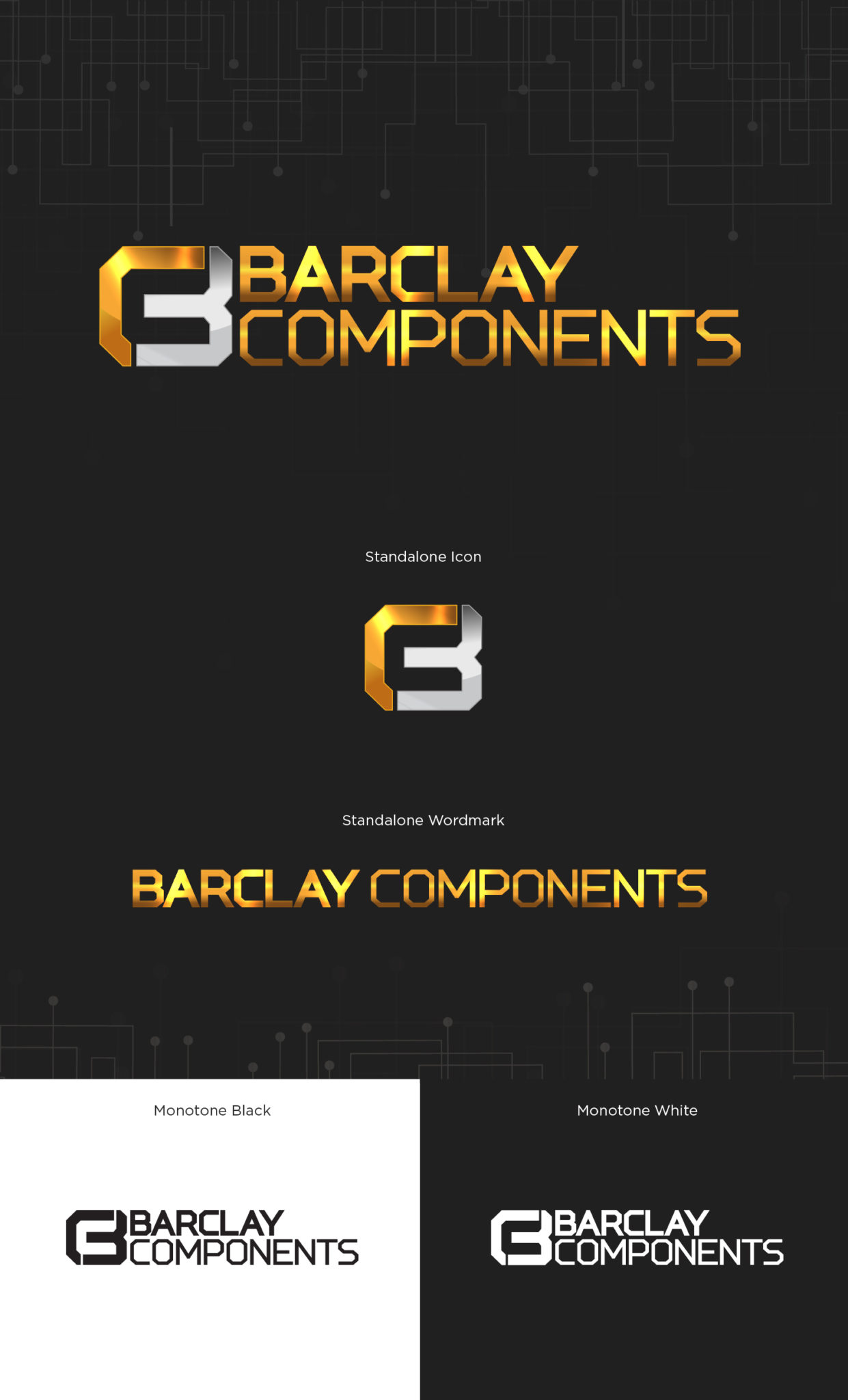 Barclay Components Logo Design & Branding