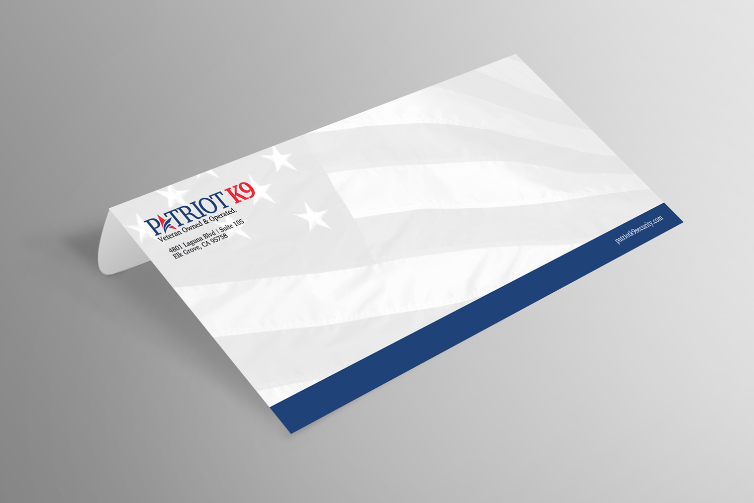 Envelope - Patriot K9 Brand Collateral Design Ninjaz